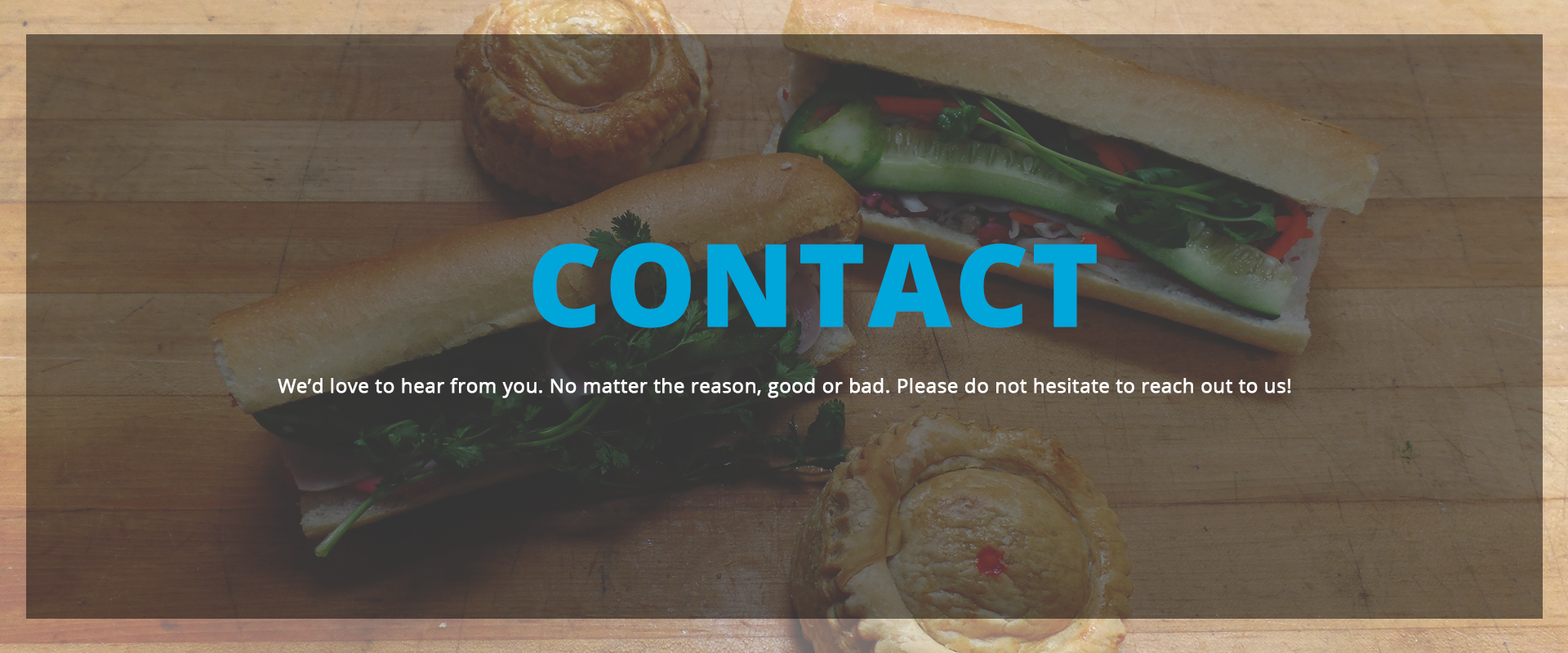 Contact Page Header