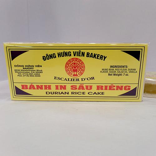 Durian Rice Cake